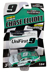 2020 Wave 3 Collectible NASCAR Authentics Chase Elliott #9 Diecast Car 1//64 Scale